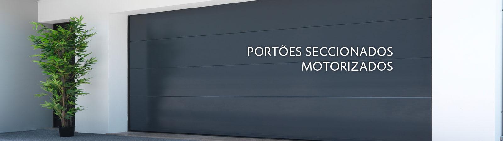 Portões Seccionados Motorizados